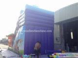 diapositiva inflable comercial de moda de los 9X4X7m para los adultos