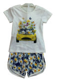 Bloem Children Clothes in Kids Suit met Print in Shorts sgs-101