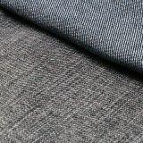 Tessuto viscoso nero dello Spandex del poliestere del cotone per i jeans del denim