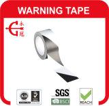 Fita de advertência do PVC com adesivo