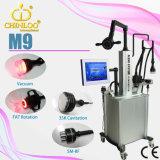 M9 vervaardigt Chinloo de Professionele VacuümApparatuur van de Schoonheid van het Vermageringsdieet van het Lichaam van de Cavitatie