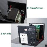 Stabilizzatore automatico di tensione con la visualizzazione E-I 1000va dell'affissione a cristalli liquidi del trasformatore