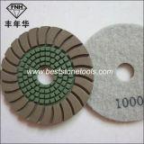 Almofada de polonês seca do diamante Dd-9 de pedra