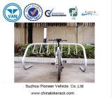 4 cremalheiras do armazenamento da bicicleta da capacidade das bicicletas