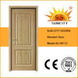 販売(SC-W113)のための使用された外部の純木のドア