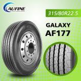 최고 질 315/80r22.5, 385/65r22.5를 위한 강한 트럭 타이어