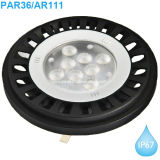 IP67 Waterproof projectores do diodo emissor de luz PAR36 com ETL/cETL