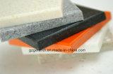 Feuille extérieure solide acrylique pure pour le compteur de cuisine fabriqué
