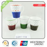 Tasse de vente chaude de porcelaine de la porcelaine 10oz de la Chine