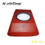 Colore rosso per l'indicatore luminoso solare esterno impermeabile del giardino del LED