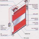 Puerta automática de la puerta de alta velocidad del obturador del PVC (HF-J199)