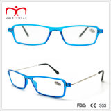 Reading unisex Glasses con Metal Temple e Plastic Frame (WRP501004)