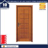 Porte en bois extérieure en bois solide d'entrée principale
