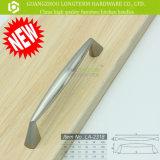 Ручки кухни шкафа никеля цинка почищенные щеткой сплавом