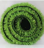 Il tappeto erboso sintetico di vendita calda mette in mostra l'erba di calcio dell'erba