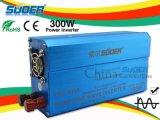 Suoer de onda sinusoidal pura inversor 300W Energía Solar Inverter 12V a 220V UPS Convertidor de frecuencia con el CE y RoHS (FPC-300A)