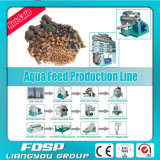 Ligne professionnelle d'usine d'alimentation de crabe de constructeur pour la ferme Breeding