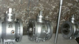 Pressão Jacketed balançada lubrific a válvula de plugue (GABX47F)