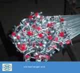 Горячий окунутый гальванизированный провод вешалки потолка 12ga