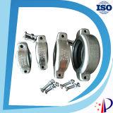 Acoplamento Grooved dos Cam-Locks de borracha hidráulicos da braçadeira