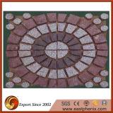 Piedra de pavimentación roja al aire libre china del granito