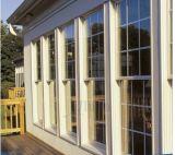 Moderne Art-amerikanische Schärpe Windows Aluminiumgehangenes Spitzenwindows