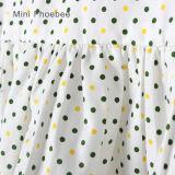 Robes du printemps 100%/automne de coton de Phoebee pour des filles