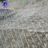 水力電気端末のための螺線形ロープのネット斜面の保護金網