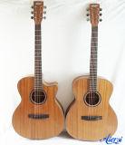 Aiersi OM denomina a guitarra acústica do corpo de mogno de 40 polegadas