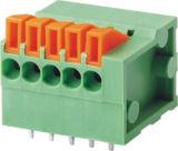 connecteur de TB de ressort du lancement Screwless/PCB de 2.54mm (WJ141V)