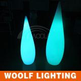 De Decoratie van de Lamp van de Daling van het water steekt de Lichten van de LEIDENE Decoratie van de Tuin aan