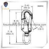 Gancho de leva forjado del broche de presión del cinc del acero de aleación (G7350)