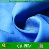75D Plain il tessuto di trama di memoria di figura di torsione del poliestere per i rivestimenti caldi di inverno del cappotto