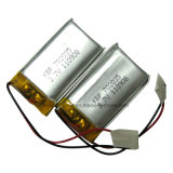Bluetooth Headset를 위한 1000mAh 3.7V Lithium Li Polymer Battery