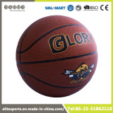 Grootte 7 Basketbal van de Blaas van pvc het Rubber