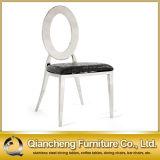 صورة زيتيّة ذهبيّة [تيتنيوم] أبيض [بو] جلد يتعشّى كرسي تثبيت