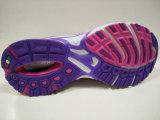 レトロデザイン女性ピンクのスポーツの靴