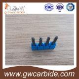 HRC 45-50 het Carbide Endmill van de Neus van de Bal van 4 Fluiten