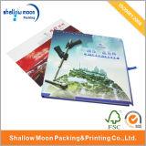 La vente en gros a adapté la brochure aux besoins du client d'impression de couleur 4 (QYZ032)