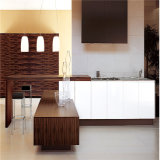 Изготовление в Ханчжоу, Китай мебели кухни Veneer дуба естественное деревянное