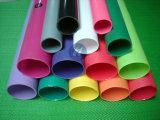 2015 tubos sacados de acrílico coloridos de PMMA