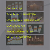 Hotsale 중국 색깔 왁스 OEM 레이블 초