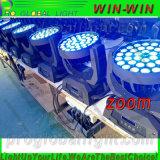 36*10W LED 이동하는 맨 위 세척 빛