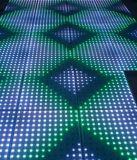 단계 휴대용 3D DJ LED 지면 빛
