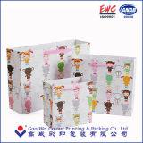 Bolso de papel impreso del embalaje del regalo para el paño y el chocolate