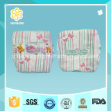 Clothlike Breathable Baby Nappies avec pp Colorful Tape