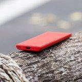 Anker Powercore adelgaza el cargador de 5000 Portable, la batería externa ultra delgada con tecnología de la batería del iPhone y Poweriq de Rápido-Carga, batería de la potencia, roja