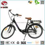Fabrication en gros 250W Electric City Bike Affichage LED Road Bicycle En15194 E-Bike Pedal Vehicle for Sale