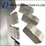 Het Segment van het Graniet van het Blad van de diamant met de Bladen van de Zaag van 900mm voor het Knipsel van de Steen