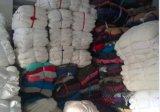 Ragsの競争の製造原価の白いTシャツの綿Ragsを拭く優れた品質